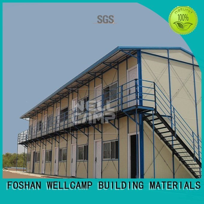 WELLCAMP, WELLCAMP prefab house, WELLCAMP container house Brand installed k16 prefabricated houses china price steel