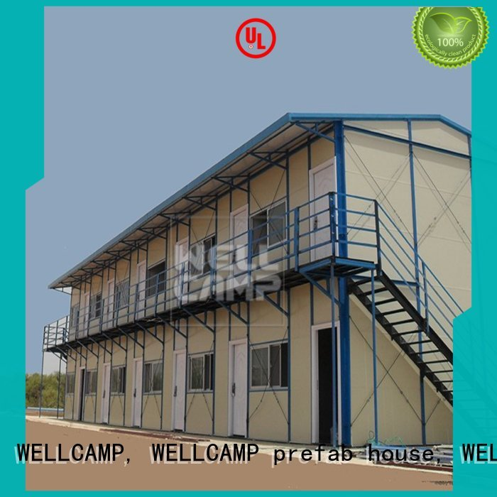 prefabricated houses china price modern sandwich prefab houses WELLCAMP, WELLCAMP prefab house, WELLCAMP container house Brand