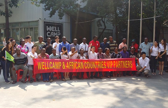 Wellcamp African VIP Agents' Meeting & 118th Canton Fair