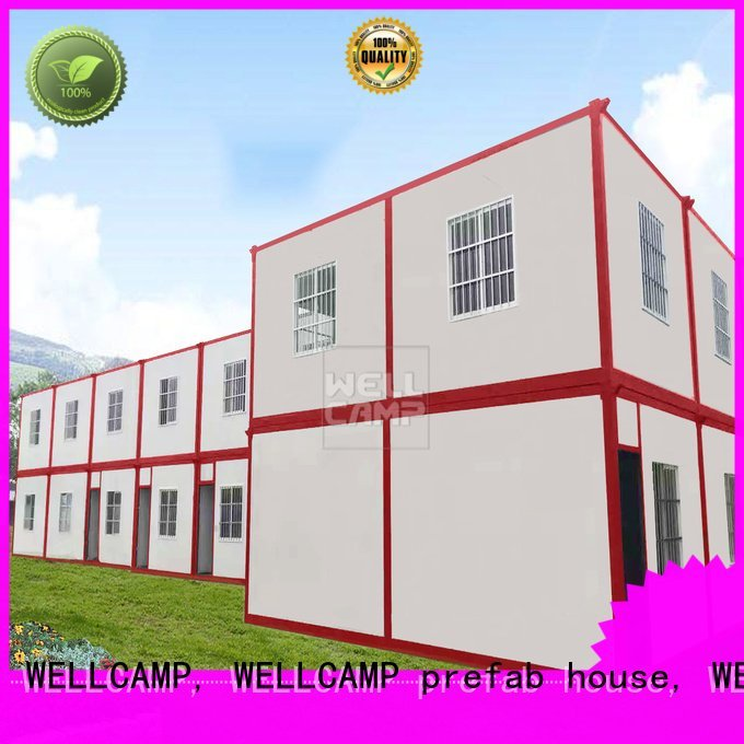 modern container house installed detachable container house WELLCAMP, WELLCAMP prefab house, WELLCAMP container house Brand
