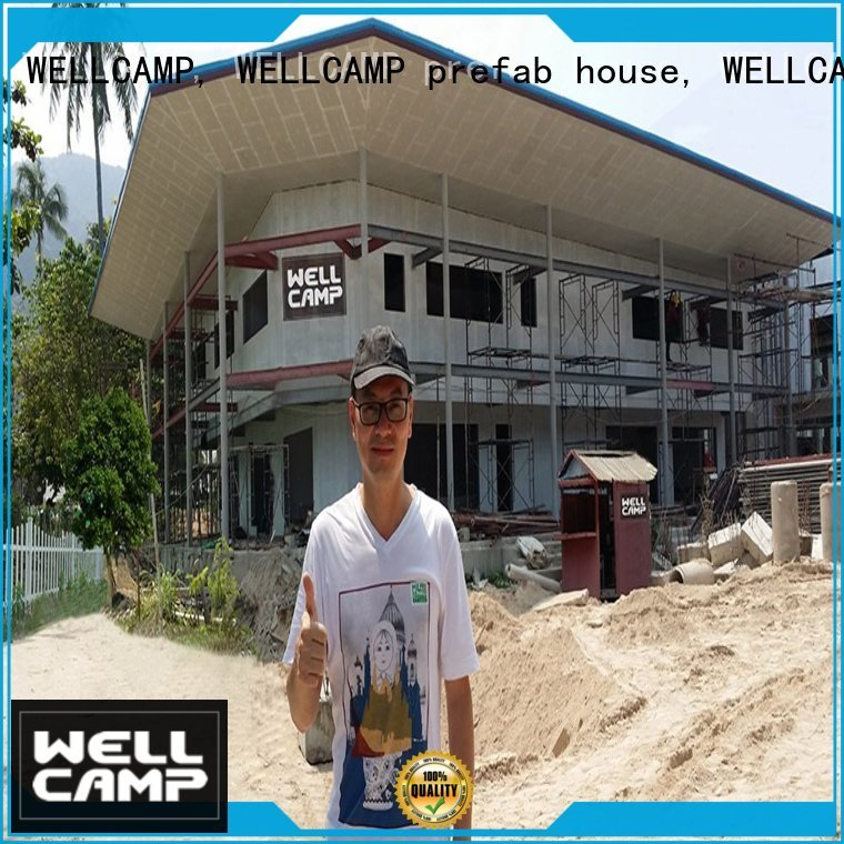 WELLCAMP, WELLCAMP prefab house, WELLCAMP container house Brand v23 apartment Prefabricated Concrete Villa