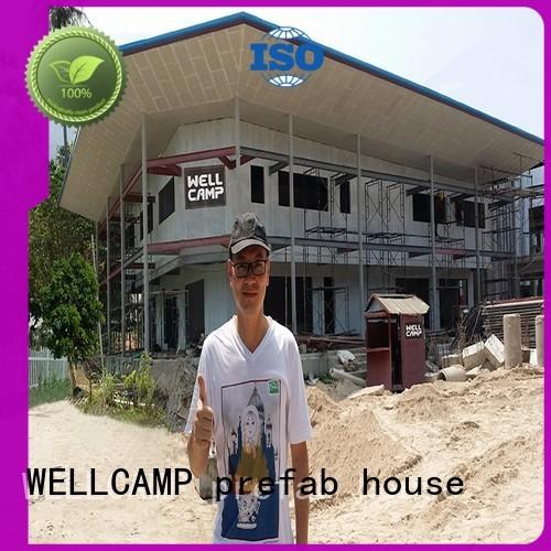 panel sandwich modular house WELLCAMP, WELLCAMP prefab house, WELLCAMP container house Brand
