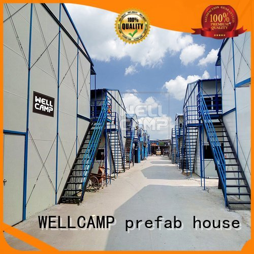 Wholesale k10 durable prefab houses WELLCAMP, WELLCAMP prefab house, WELLCAMP container house Brand