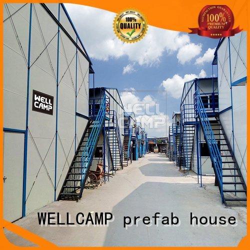 Wholesale k10 durable prefab houses WELLCAMP, WELLCAMP prefab house, WELLCAMP container house Brand