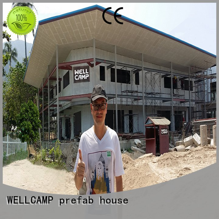 Custom prefabricated modular house building Prefabricated Concrete Villa
