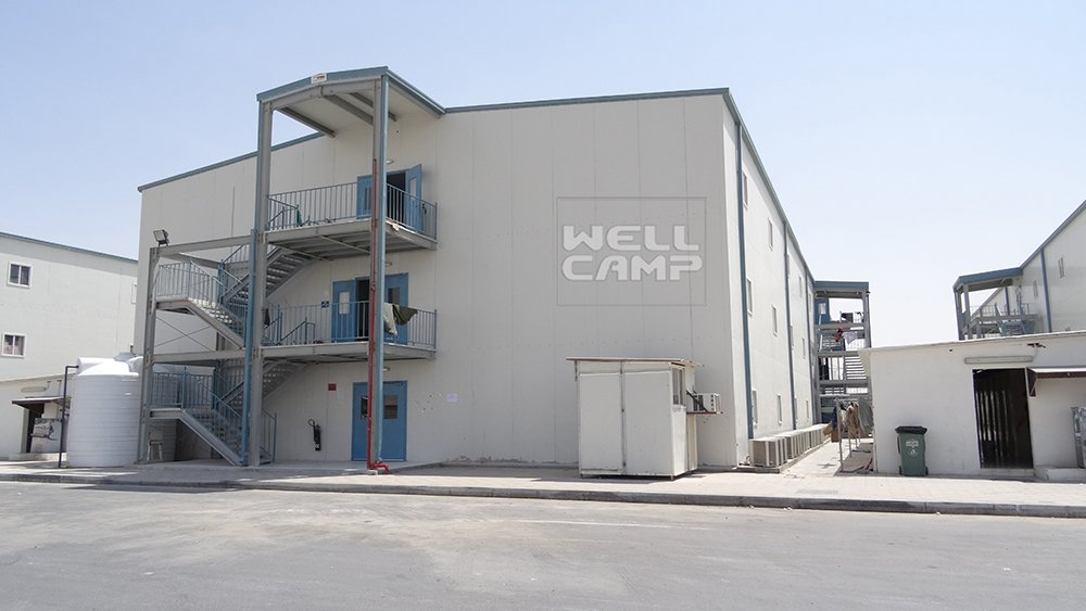 Government Project Prefab House for Labor Camp, Wellcamp K-6