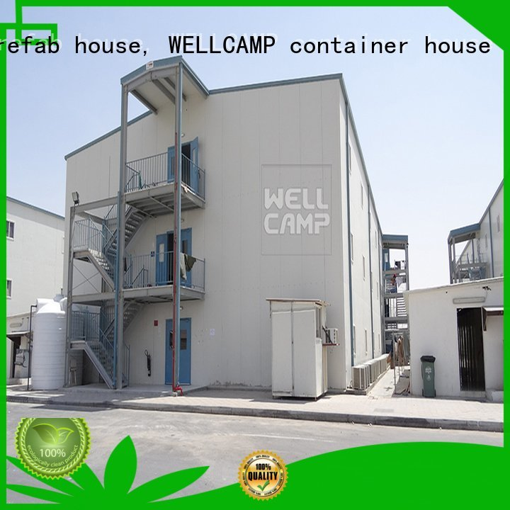 WELLCAMP, WELLCAMP prefab house, WELLCAMP container house students panel prefab houses for sale t11 t12