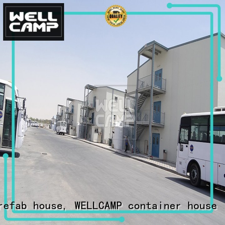 modular prefabricated house suppliers home economical camp Warranty WELLCAMP, WELLCAMP prefab house, WELLCAMP container house