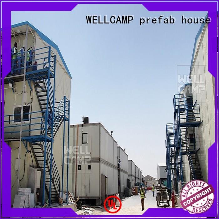 government panel prefab houses modern WELLCAMP, WELLCAMP prefab house, WELLCAMP container house Brand
