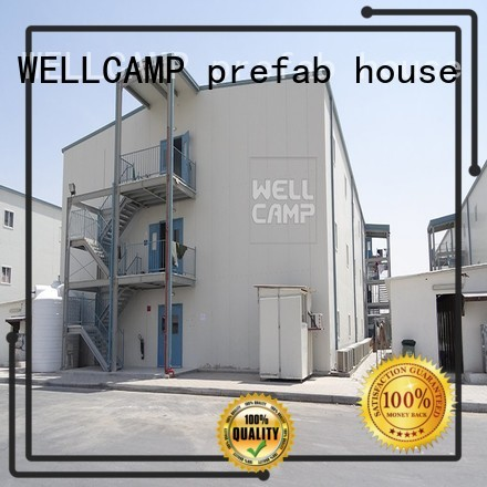 modular prefabricated house suppliers building students Warranty WELLCAMP, WELLCAMP prefab house, WELLCAMP container house