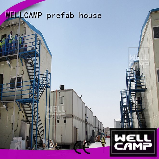 WELLCAMP, WELLCAMP prefab house, WELLCAMP container house efficiency k11 prefab houses k14 homes