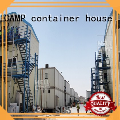 k20 government three homes prefab houses WELLCAMP, WELLCAMP prefab house, WELLCAMP container house