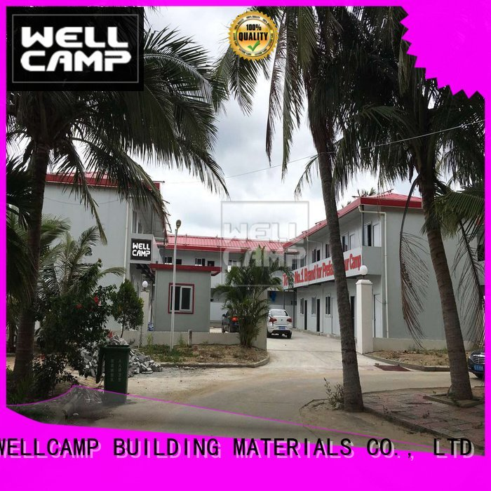Hot modular prefabricated house suppliers t10 home t5 WELLCAMP, WELLCAMP prefab house, WELLCAMP container house Brand