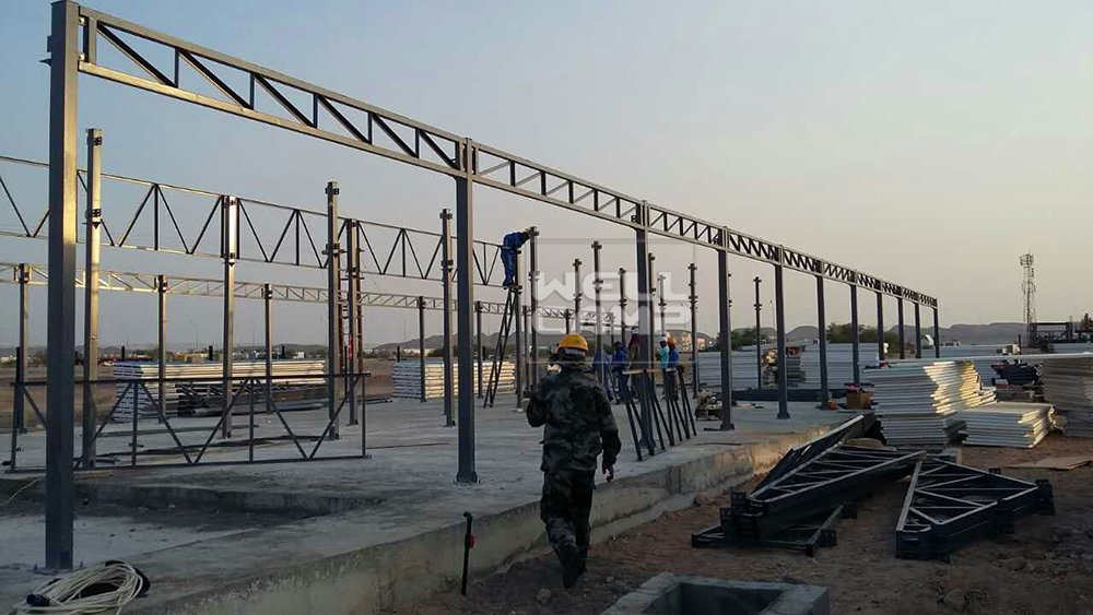Wellcamp Prefabricated Office Building in Oman Project