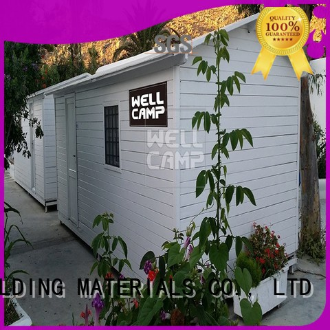 Hot security prefab houses for sale t5 t15 WELLCAMP, WELLCAMP prefab house, WELLCAMP container house Brand