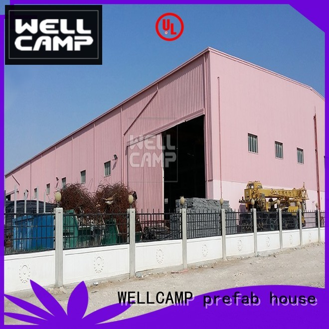 large steel prefab warehouse WELLCAMP, WELLCAMP prefab house, WELLCAMP container house Brand