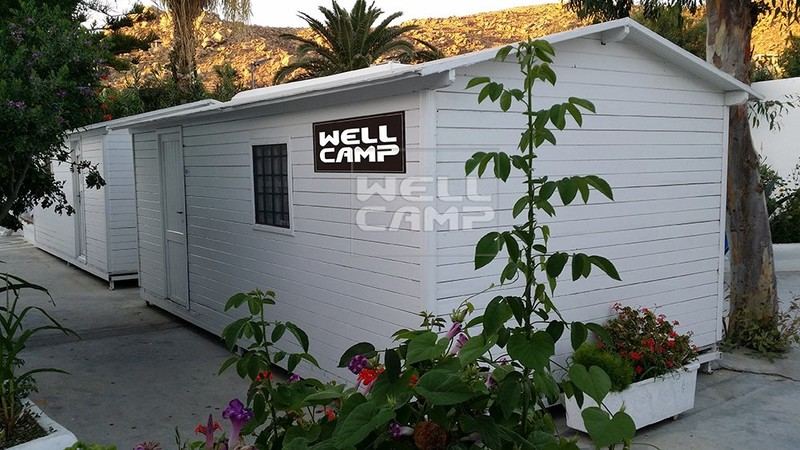 Delicated Temporary Prefabricated Dormitory Home, Wellcamp T-13