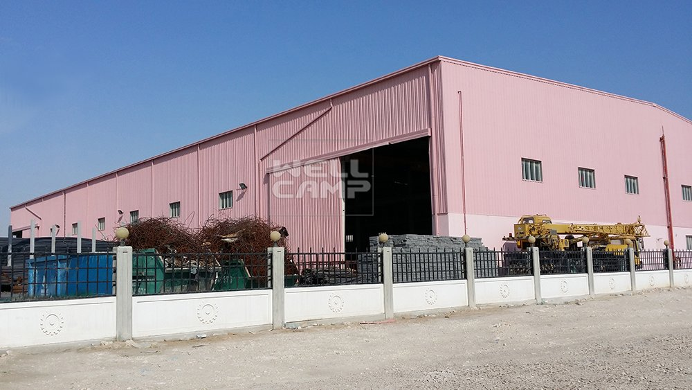 Economic Strong Steel Structure Building for Workshop, Wellcamp S-2