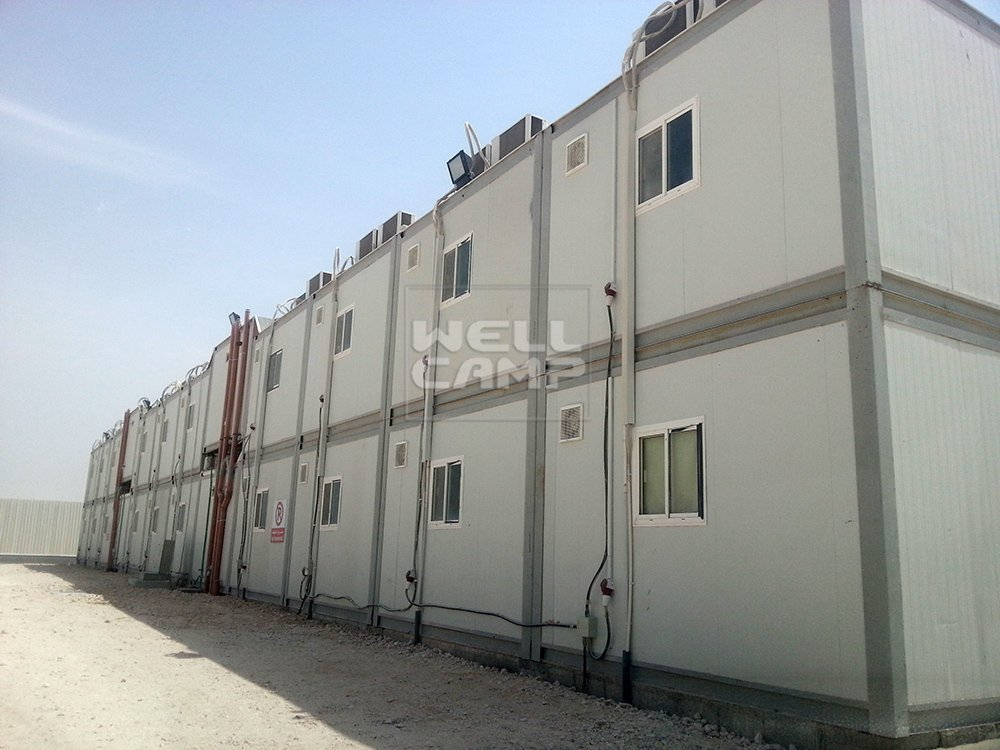 Government Project Prefabricated Office Container House, Wellcamp C-15