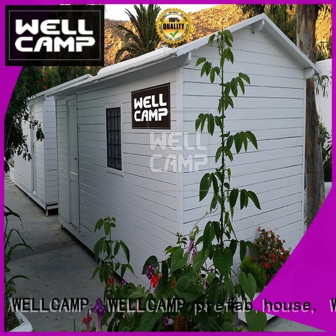 modular prefabricated house suppliers economical WELLCAMP, WELLCAMP prefab house, WELLCAMP container house Brand prefab houses f