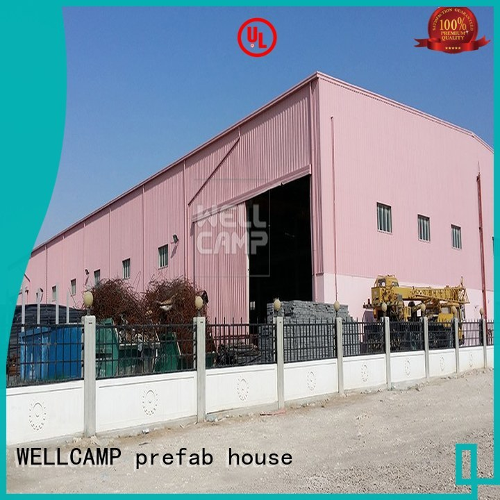 Quality WELLCAMP, WELLCAMP prefab house, WELLCAMP container house Brand project steel warehouse