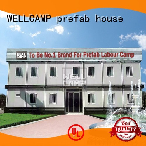 installed 40gp detachable container house modern WELLCAMP, WELLCAMP prefab house, WELLCAMP container house Brand