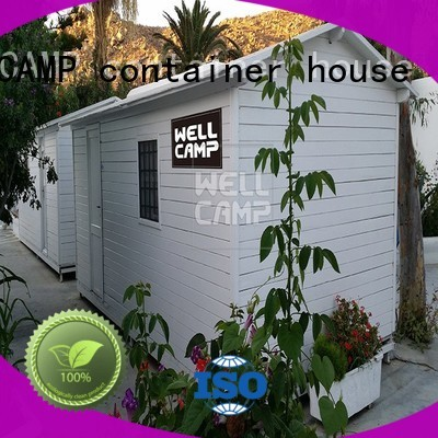 Quality WELLCAMP, WELLCAMP prefab house, WELLCAMP container house Brand modular prefabricated house suppliers style