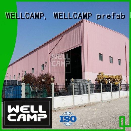 building steel warehouse WELLCAMP, WELLCAMP prefab house, WELLCAMP container house prefab warehouse