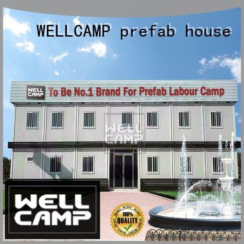 WELLCAMP, WELLCAMP prefab house, WELLCAMP container house Brand design modern container house d2 modern