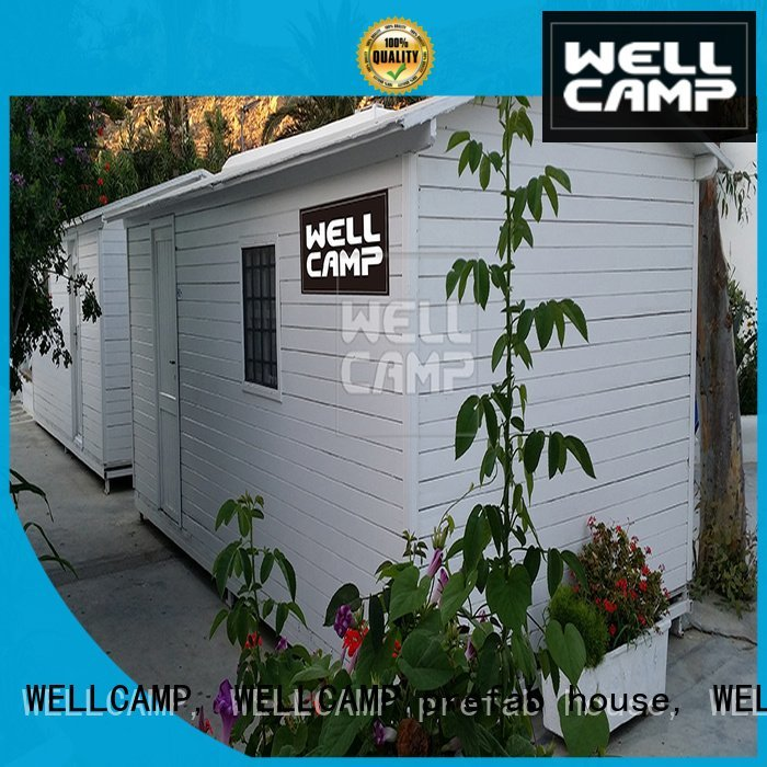 WELLCAMP, WELLCAMP prefab house, WELLCAMP container house style panel dormitory modular prefabricated house suppliers wellcamp