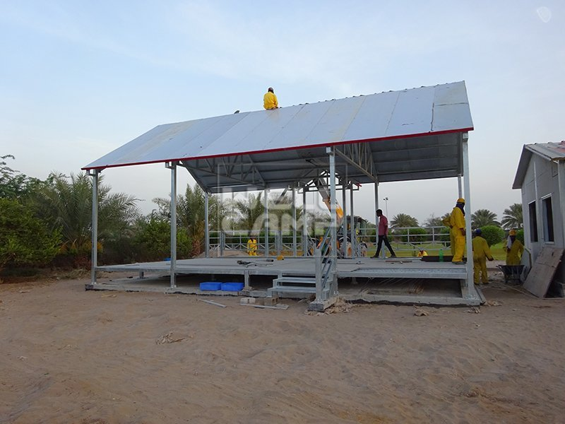Wellcamp Light Steel Prefab Villa in Dubai Project