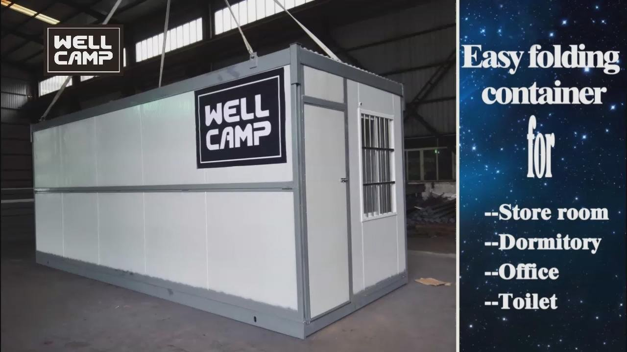 2016 Wellcamp New Style Easy Folding Container House