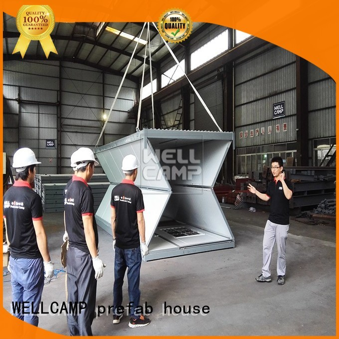 f7 house foldable container house move c12 WELLCAMP, WELLCAMP prefab house, WELLCAMP container house Brand