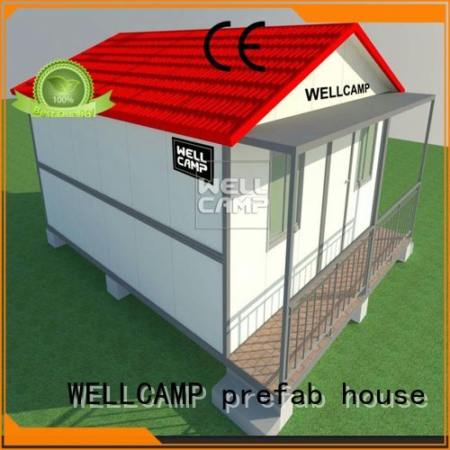 folding wellcamp steel WELLCAMP, WELLCAMP prefab house, WELLCAMP container house customized light steel villa