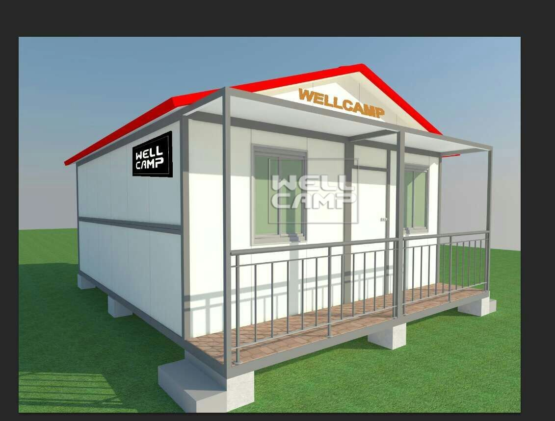 Luxury Pre-Made Folding Container Villa House, Wellcamp CV-3