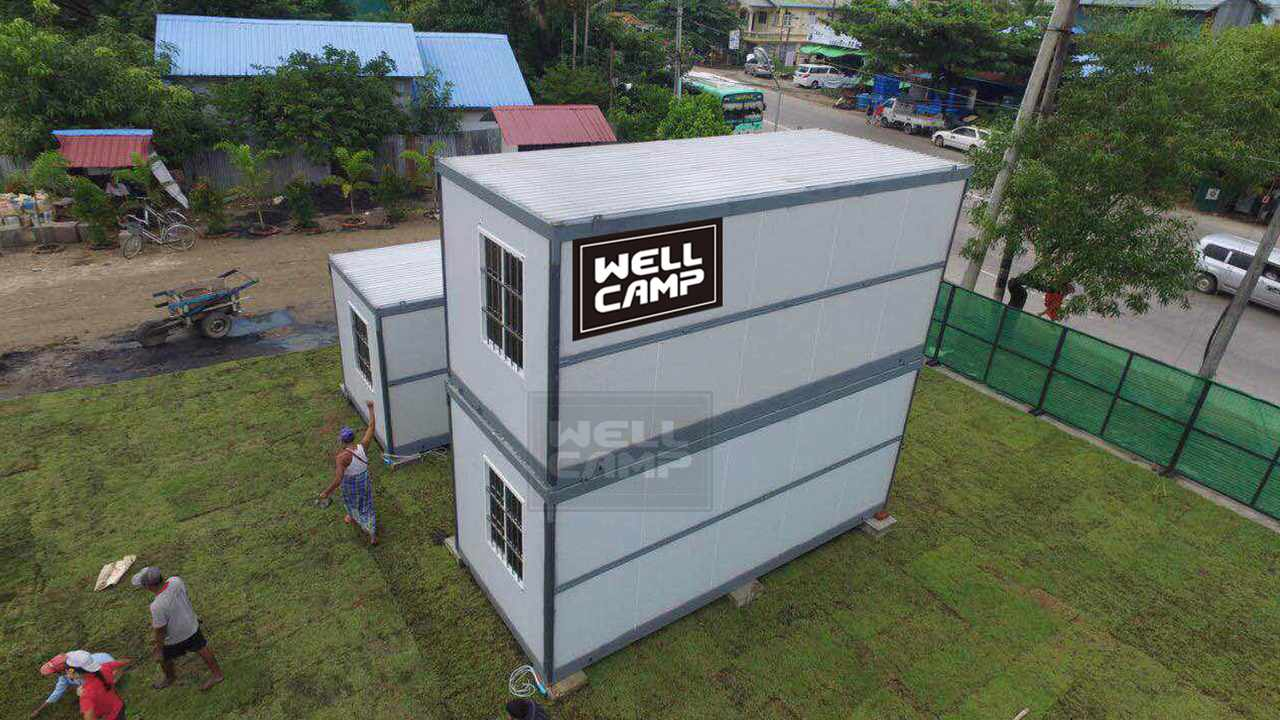 WELLCAMP, WELLCAMP prefab house, WELLCAMP container house Array image68