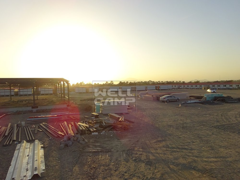 Wellcamp Folding Container House Project in Oman
