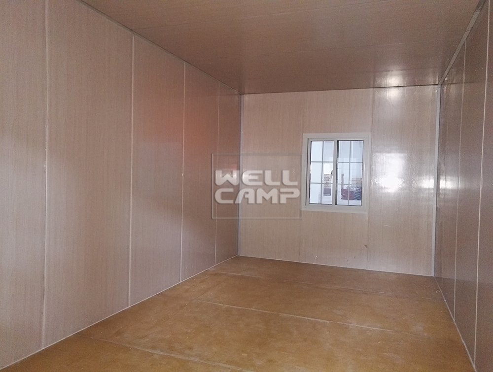 Wellcamp Flat Pack Container House for Accommodation in China Project