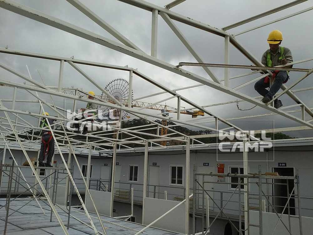 Wellcamp K Prefabricated House Project in Vietnam