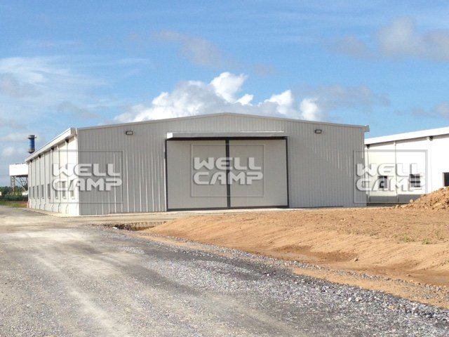 Wellcamp Steel Structure for Japan Mitsubishi Factory in Tobago