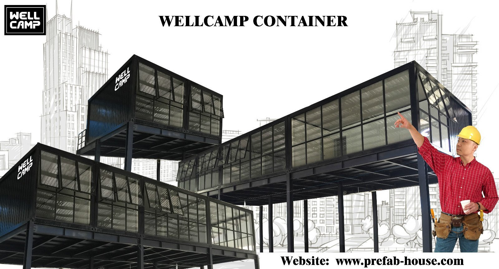 WELLCAMP, WELLCAMP prefab house, WELLCAMP container house Array image145