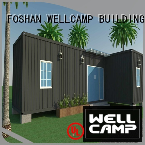 c1 ecofriendly folding WELLCAMP, WELLCAMP prefab house, WELLCAMP container house Brand luxury living container villa suppliers supplier