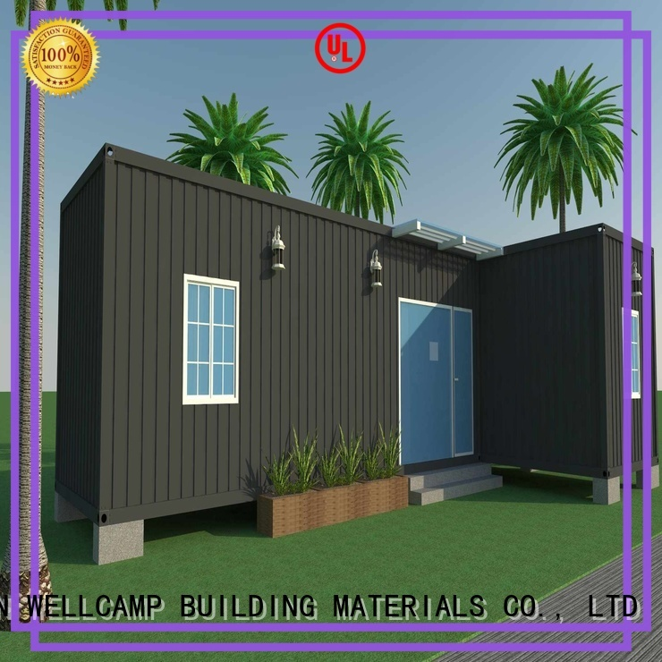 ecofriendly low house luxury customized light steel villa WELLCAMP, WELLCAMP prefab house, WELLCAMP container house Brand