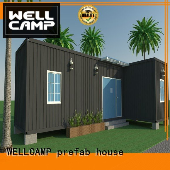 customized light steel villa cost folding container c1 WELLCAMP, WELLCAMP prefab house, WELLCAMP container house
