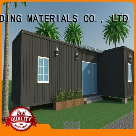 house luxury living container villa suppliers WELLCAMP, WELLCAMP prefab house, WELLCAMP container house customized light steel v