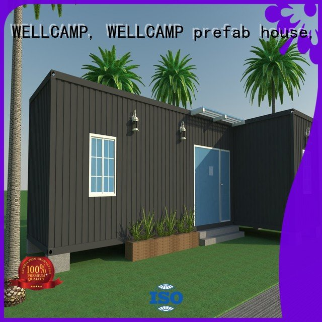 customized light steel villa house luxury living container villa suppliers WELLCAMP, WELLCAMP prefab house, WELLCAMP container h