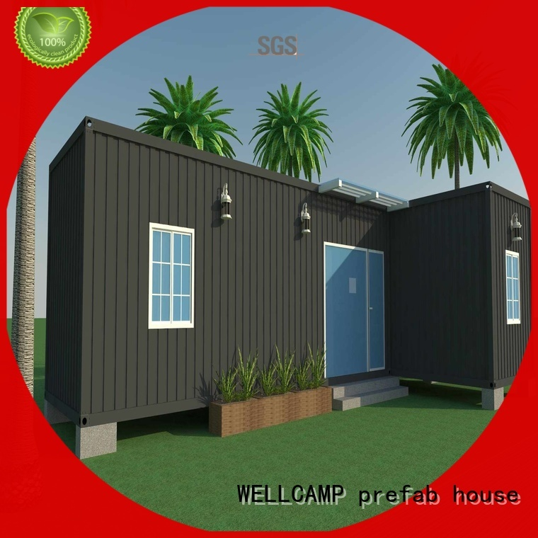 container luxury living container villa suppliers c1 WELLCAMP, WELLCAMP prefab house, WELLCAMP container house company