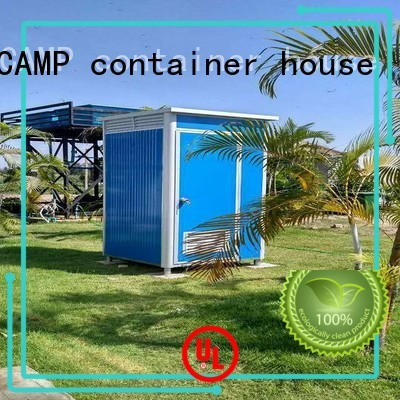 WELLCAMP, WELLCAMP prefab house, WELLCAMP container house Brand prefabricated luxury portable toilets units supplier