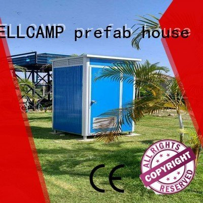 WELLCAMP, WELLCAMP prefab house, WELLCAMP container house best portable toilet t1 prefabricated t5 easy