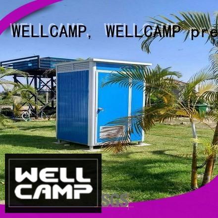 luxury portable toilets toilet public WELLCAMP, WELLCAMP prefab house, WELLCAMP container house Brand